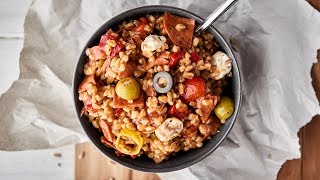 Antipasto Farro Salad