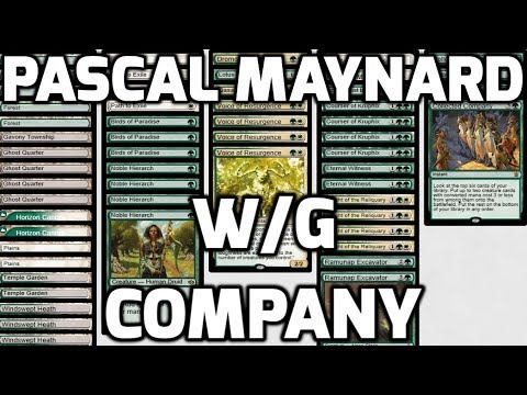 Channel PMayne - Modern W/G Company (Deck Tech & Matches)