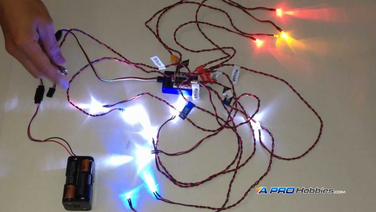 12 Led Flashing Light System For Rc Cars Trucks Robotics Hobby Projects Youtube