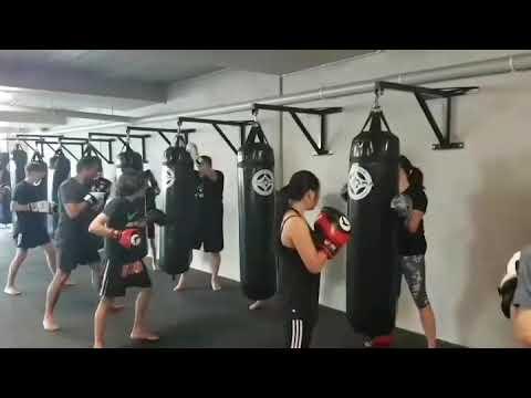 Judd Reid Chikara Martial Arts Centre Conditioning Class