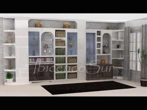 Ibicencosur muebles ibicencos youtube for Muebles de pladur para salon fotos