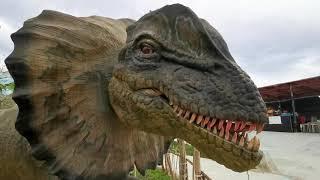 សួនសត្វដាណូស័រ//Jurassic Kingdom Cambodia// dinosaurs for kids