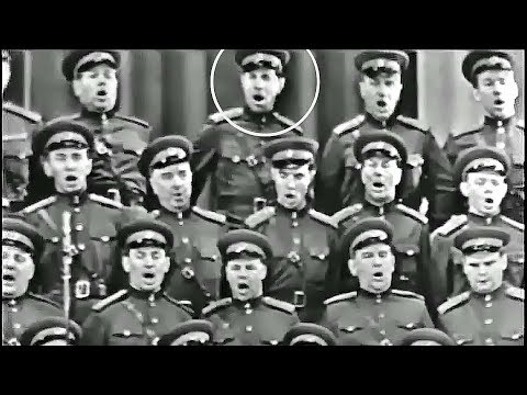 """Chorus of the Soldiers from the """"Decembrists"""" Opera - The Alexandrov Red Army Choir (1965)"""
