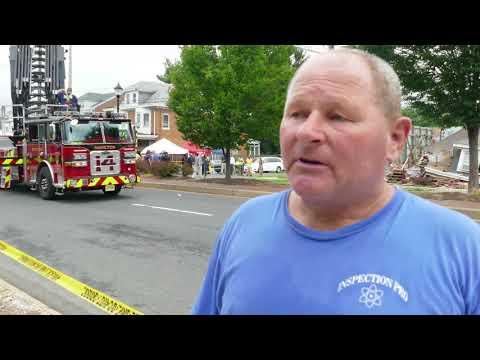 House collapse in Mercer County, NJ