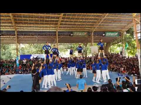 Philippine Christian University (PCU) Cheerdance Competition STEM 11 Blue Marlins 2018