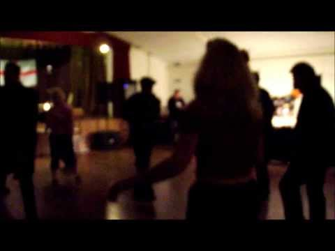 Boppin' around at Crondall rock 'n' roll club with DJ Dynamite Ady