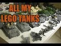 LEGO TANKS COLLECTION - WW2 and MODERN WARFARE