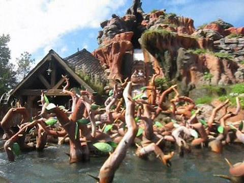 Splash Mountain Front Seat On Ride Pov Walt Disney World S Magic