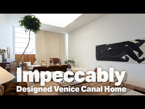 Best Homes Of Venice: 200 S Venice Blvd - 2 Bed / 3 Bath Venice Canal Architectural Home