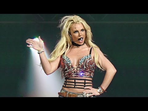 Britney Spears - Work Bitch, Womanizer & Slave (Live From San Jose, CA)