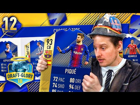 THE BEST TOTS DRAFT DEFENSE! DRAFT TO GLORY #12! FIFA 18 ULTIMATE TEAM