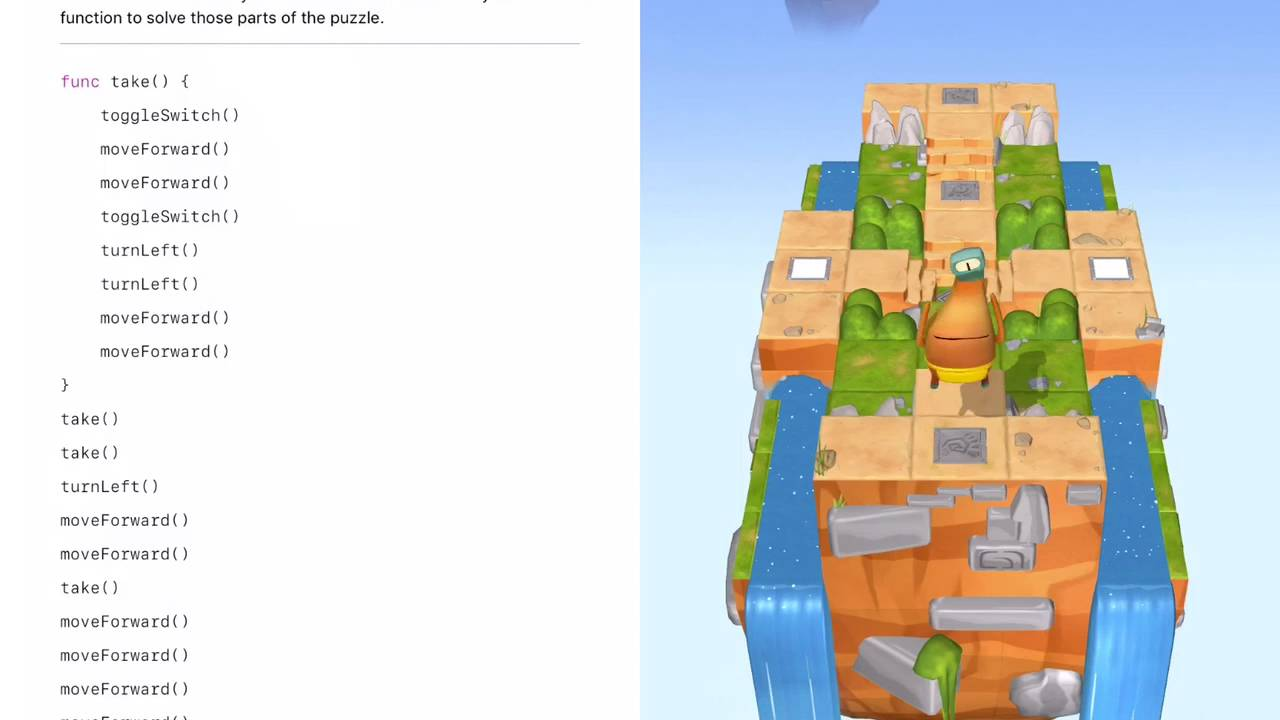 Swift Playground (Treasure Hunt)   Learn to Code 1 (Functions)
