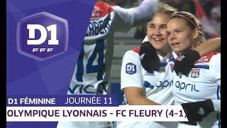 J11 : Olympique Lyonnais - FC Fleury 91 (4-1) / D1 Féminine
