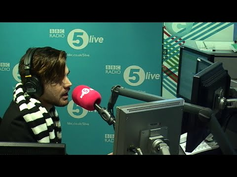 2015-11-19 Adam Lambert on BBC Radio 5 live - UK