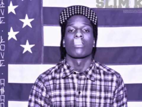 ASAP Rocky - Houston Old Head (Chopped & Screwed by Slim K)
