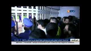 الداربي العاصمي بين شباب بلوزداد و نصر حسين داي يشهد تنظيم كارثي بملعب البليدة