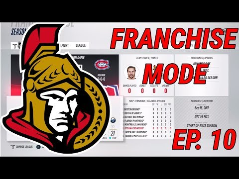 TURRIS TRADE - NHL 18 - Franchise Mode - Ep. 10 - Ottawa