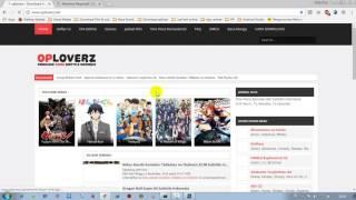Cara Mendownload Film Anime Di Oploverz