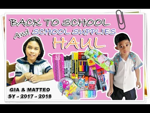 Back to School 2017 + School Supplies Haul l National Book Store Vlog#3