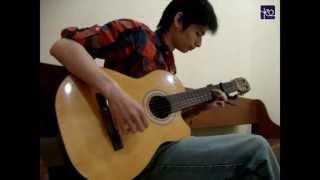 Akustik Gitar # Lonely - 2ne1