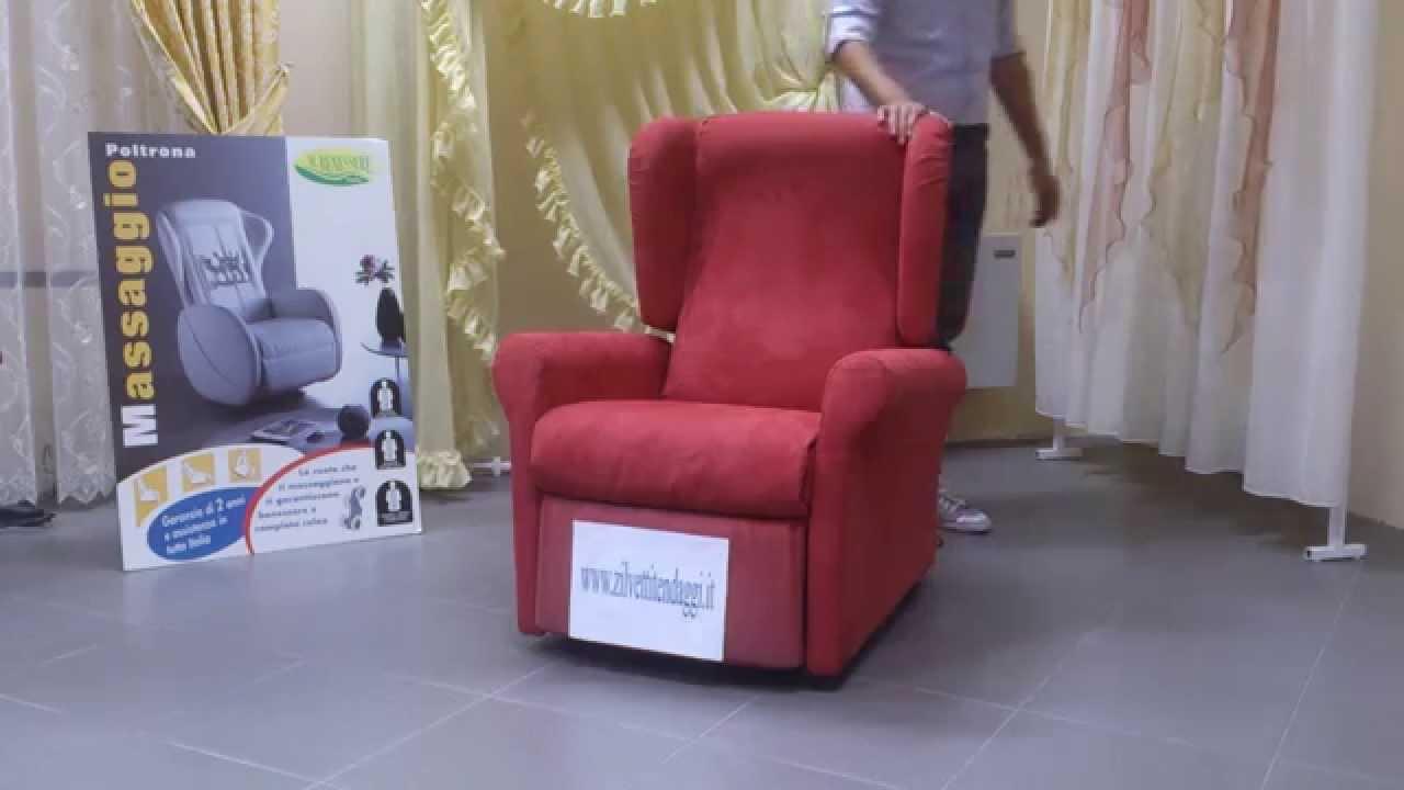 poltrona elettrica per disabili e anziani susy 2 motori, kit ruote ... - Poltrona Relax Motorizzata Balance