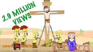Jesus Is Crucified I Stories of Jesus I Animated Children