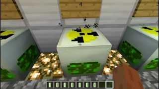Взрыв ядерного реактора в minecraft