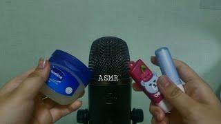 쫀득한 립밤 마사지 asmr / Sticky Lip B…