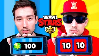 FREE2PLAY vs PAY2WIN SPIELER in BRAWL STARS! 😱