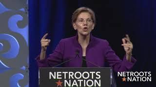 Sen. Elizabeth Warren Friday Afternoon Keynote Netroots Nation 2018
