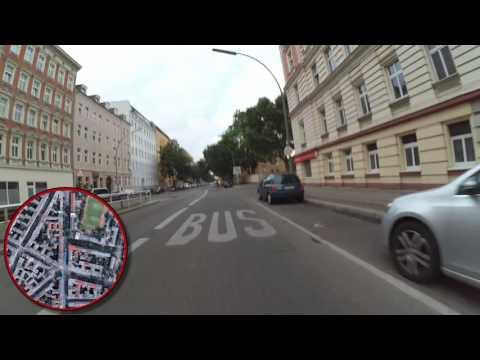 Charlottenburg-Hansaviertel-Moabit-Gesundbrunnen, biking through the streets of Berlin