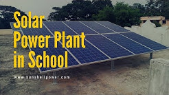 Solar Power Plant Installation in School | Net metering | Rooftop
