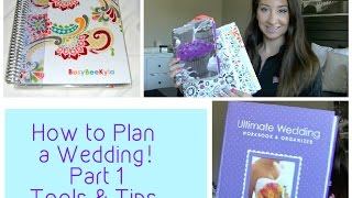 How To Plan A Wedding| Diy Planning Book| Episode 1- Tools & Tips
