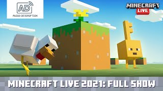 [AUDIO DESCRIPTION] Minecraft Lİve 2021