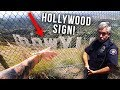 I tried to TOUCH the HOLLYWOOD SIGN (EXTREMELY ILLEGAL) *DO NOT TRY*