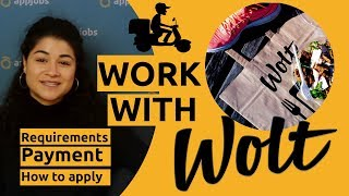 📦 Get a courier job with Wolt | AppJobs.com