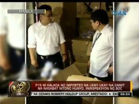 P15-M halaga ng imported na ukay-ukay na damit na nasabat nitong Hunyo, ininspeksyon