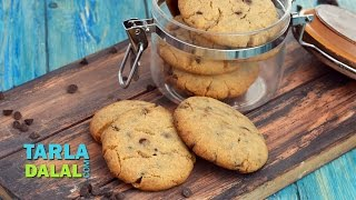 Eggless Chocolate Chip CookiesChristmas Recipe by Tarla Dalal