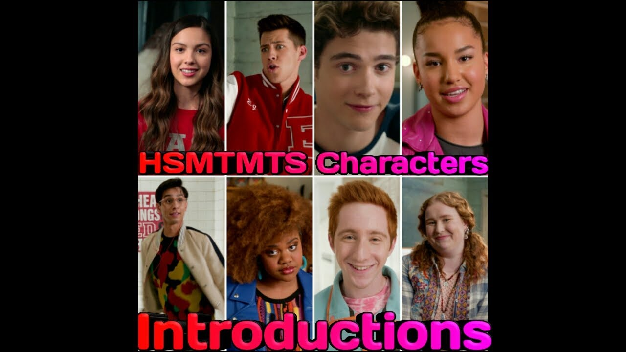 Meet the Cast and Characters of 'High School Musical: The Musical ...