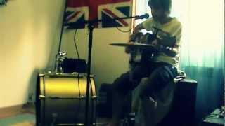 Lonny Garcia ¤ Sweet Dreams ( Guitar & Drum Cover )