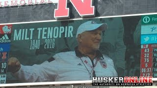 Nebraska tribute to Milt Tenopir