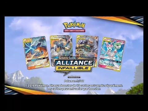 Video JCC Pokémon  : Soleil  & Lune - ALLIANCE INFAILLIBLE - PUB TV FR