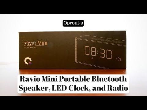 oprout's-ravio-mini-portable-bluetooth-speaker,-led-clock,-and-radio