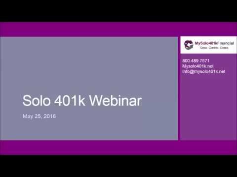 Solo 401k Basics & Top 3 Reasons to Open a Solo 401k