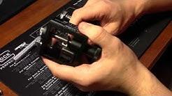 Installing TruGlo TG131GT2Y TFO Night Sights on Glock 36