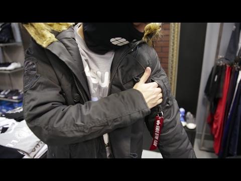 Куртки Alpha Industries в магазине Street Story