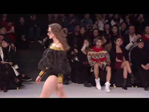 171029 China Fashion Week 桐人唐 BY E-LAU fashion show