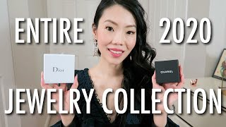 DESIGNER JEWELRY COLLECTION Ft. Chanel, Dior, Louis Vuitton & More! | #FashionablyAMY