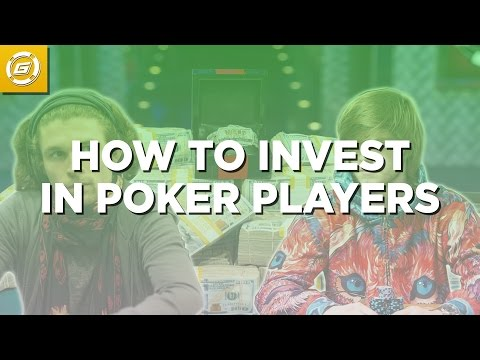 How to Make Money Investing in Poker Players - 3 Major Keys 🔑🔑🔑
