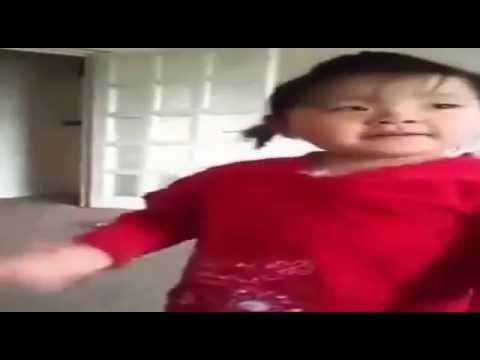 simple simple kanchi ko Dimple ...cute baby dancing